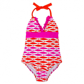 Hatley Girls Swimsuit Fish