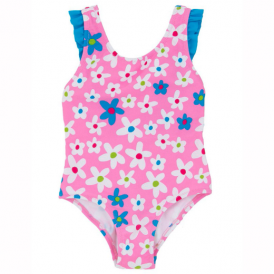 Hatley Girls Swimsuit Flowers