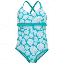 Hatley Girls Swimsuit Shells