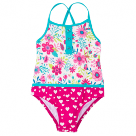 Hatley Girls Swimsuit Wallpaper Flowers
