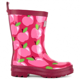 Hatley Girls Wellies Apple Orchard