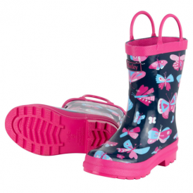 Hatley Girls Wellies Pretty Butterflies