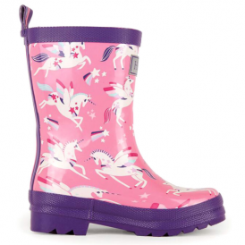 Hatley Girls Wellies Rainbow Unicorns