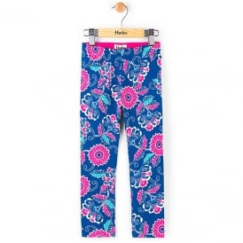 Hatley Leggings Seashore Blooms