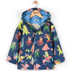 Hatley Raincoat Mega Monsters