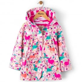 Hatley Raincoat Roaming Horses
