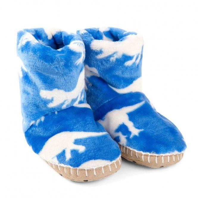 d2ed15e84356 Hatley Slippers Fleece Roaming Dinos - Kids Clothes from Soup Dragon UK