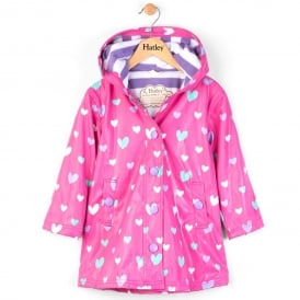 Hatley Splash Jacket Colouring Changing Hearts
