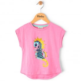 Hatley T-Shirt Jewelled Seahorse