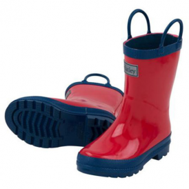 Hatley Wellies Red & Navy
