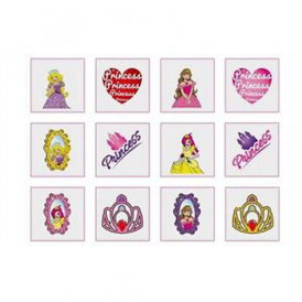 Henbrandt Fun Tattoos Princess