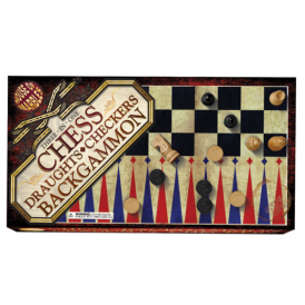 House of Marbles Chess/Draughts/Backgammon