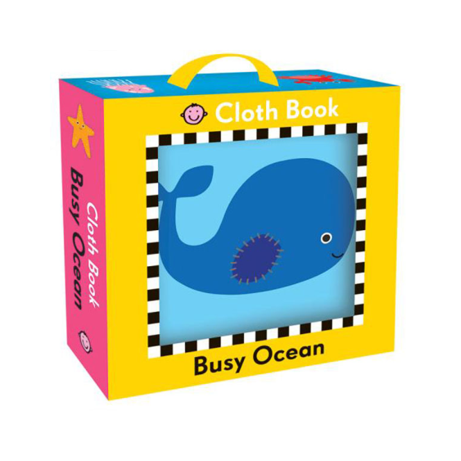 House of Marbles Cloth Book Busy Ocean