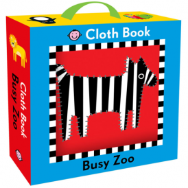 House of Marbles Cloth Book Busy Zoo
