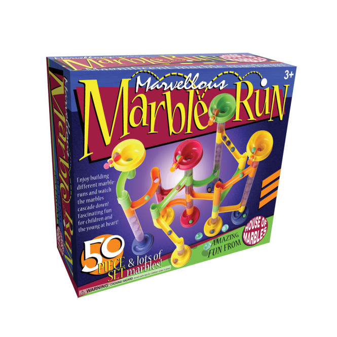 House of Marbles Marble Run 50 Piece Kit