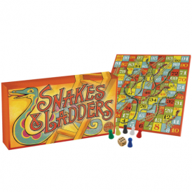 House of Marbles Vintage Snakes & Ladders