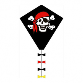 HQ Ecoline Eddy Jolly Roger Kite 50cm