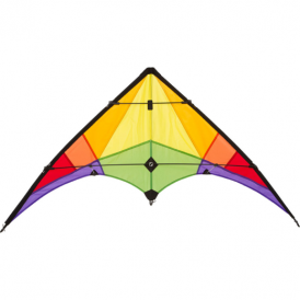 HQ Ecoline Rookie Rainbow Stunt Kite