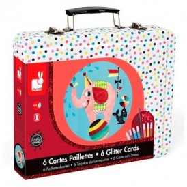 Janod Glitter Cards Circus