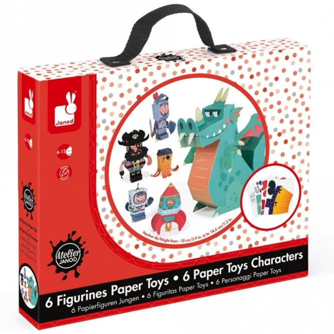 Paper Toy Characters
