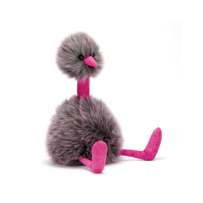 Jellycat Pompom Grey Medium