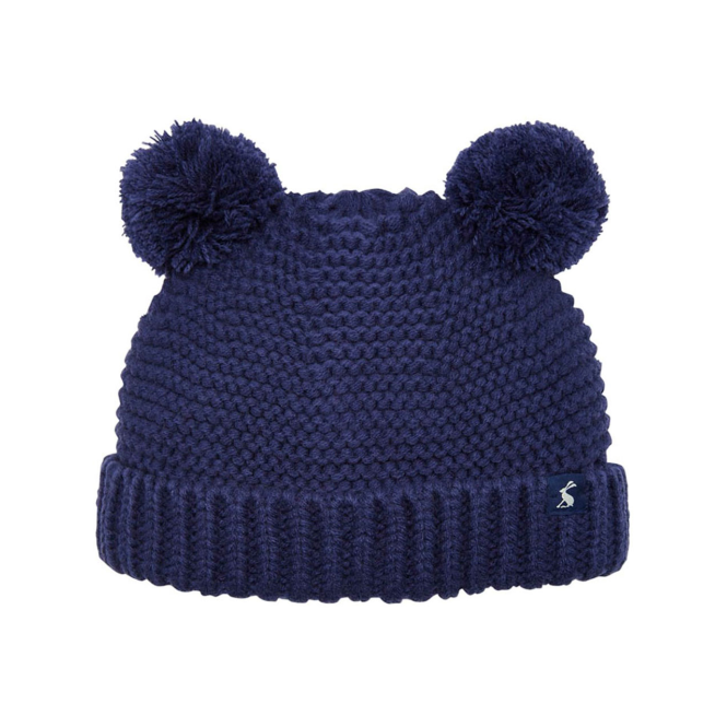 Joules Baby Boy Hat Navy Pompom BabyPomB - Hats   Accessories from ... b0327a9baf1