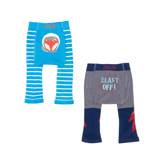 Joules Baby Boy Leggings 2 Pack Blast Off BabyLivelyB