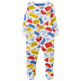 Joules Baby Boy Romper Multi Car BabyZiggy