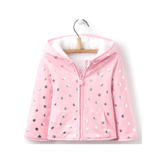 Joules Baby Girl Fleece Pink Dot InfCosette