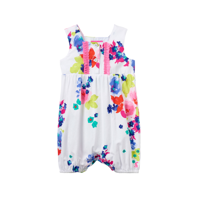 Joules Baby Girl Playsuit Ocean Bloom BabyUma
