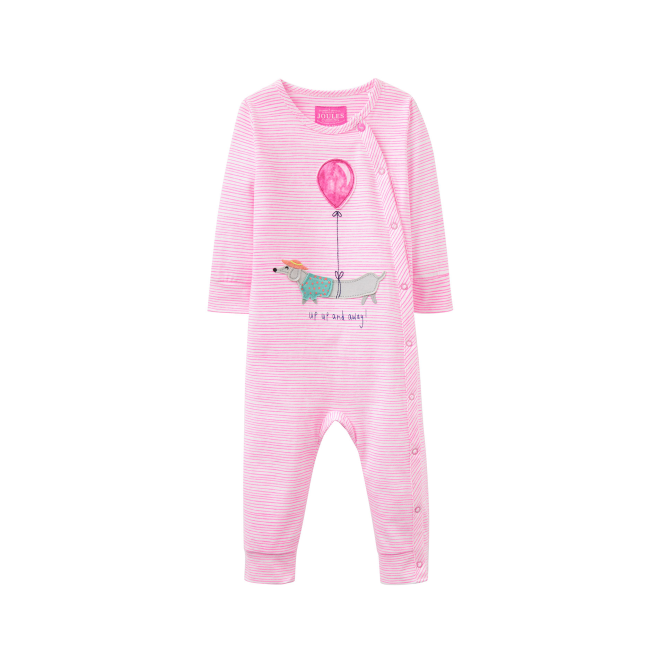 Joules Baby Girl Romper Up Up And Away BabyGracie