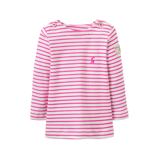Joules Baby Girl Top Pink Stripes BabyHarbourG