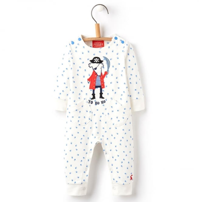 Joules Baby Romper Applique Sea Dog BabyFife