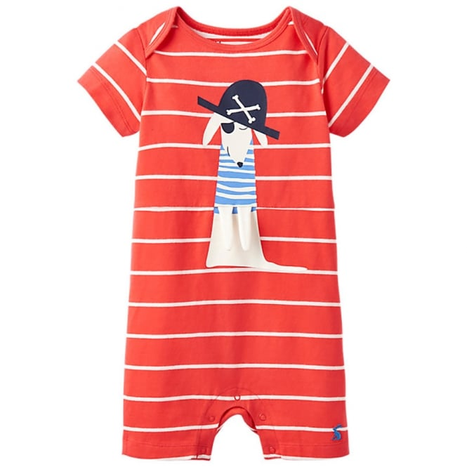 Joules Baby Romper Shortie Sea Dog BabyPatch