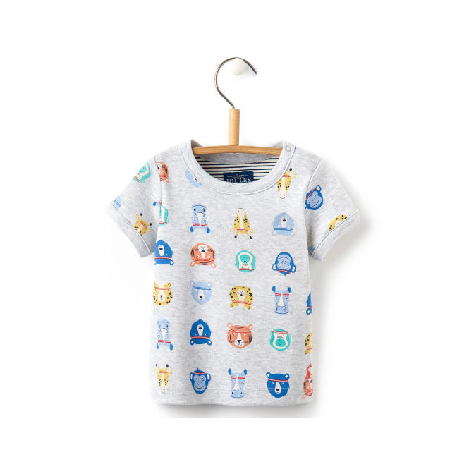 Joules Baby Top Animal Sports Stars BabyOlly