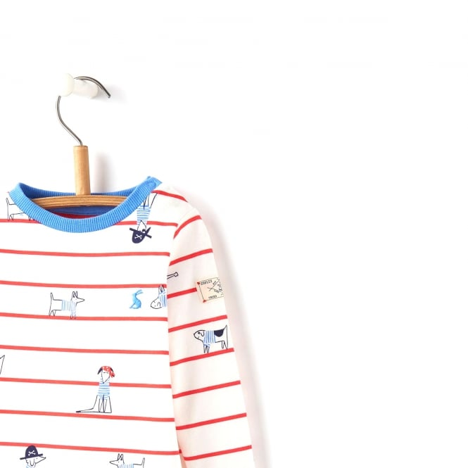 b9452e681 Joules Baby Top Dog Stripe BabyHarbourPB - Baby Clothes from Soup ...