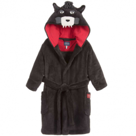 Joules Boys Dressing Gown Wolf OdrLupo