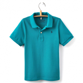 Joules Boys Polo Top Bluebird OdrWoody