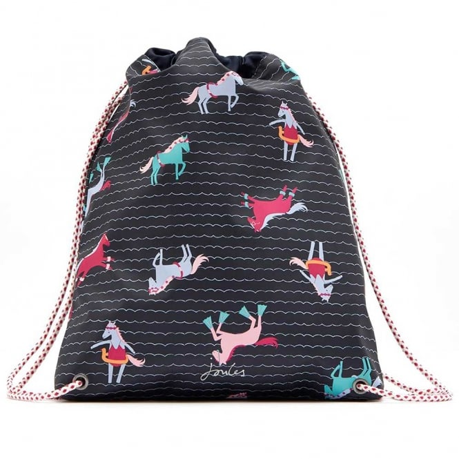 Joules Drawstring Bag Pony