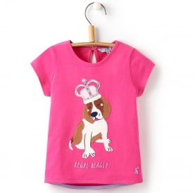 Joules T-Shirt Applique Regal Beagle YngMaggie