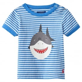 Joules T-Shirt Blue Shark OdrRay