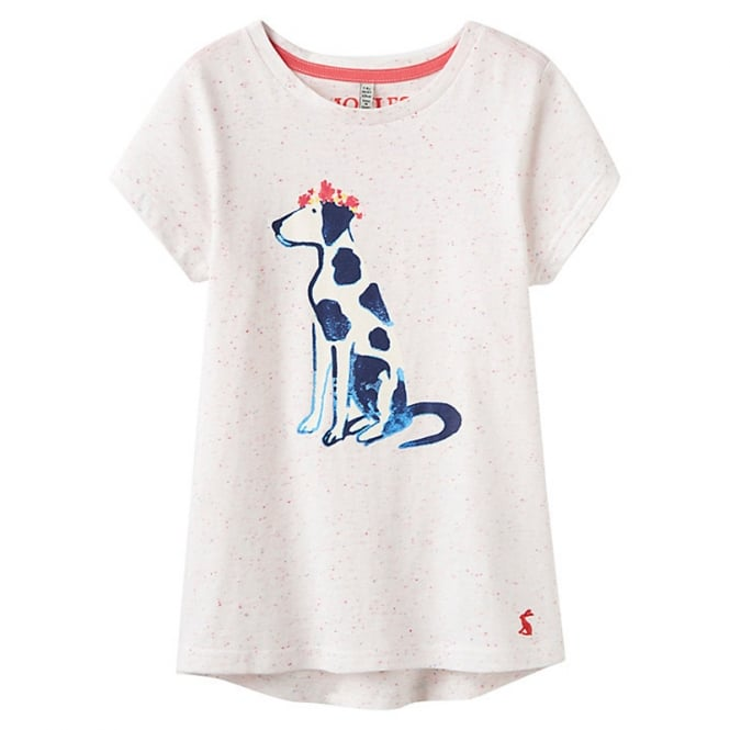 Joules T-Shirt Multi Marl Dalmation OdrPixie