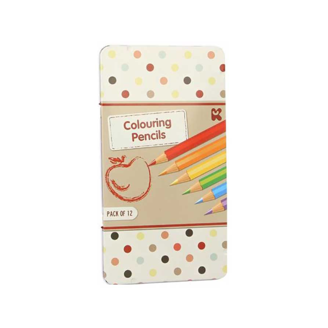 Keycraft Colouring Pencils in Tin