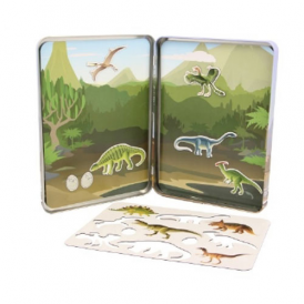 Keycraft Magnets Activity Tin Dinosaur