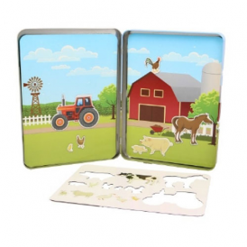 Keycraft Magnets Activity Tin Farm