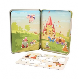 Keycraft Magnets Activity Tin Princess