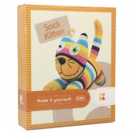 Keycraft Make Your Own Sock Kitten