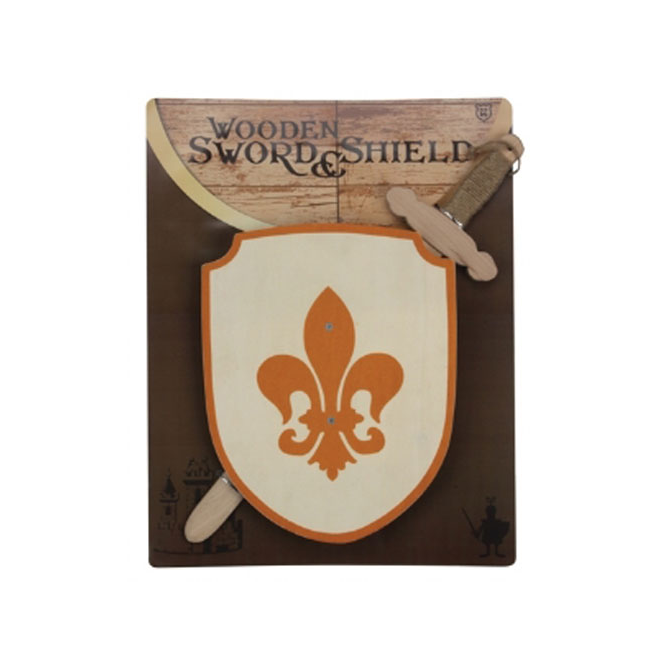 Keycraft Wooden Sword and Shield