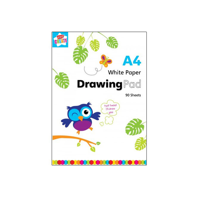 Kids Create A4 Drawing Pad