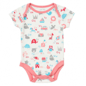 Kite Clothing Baby ABC Bodysuit Pink
